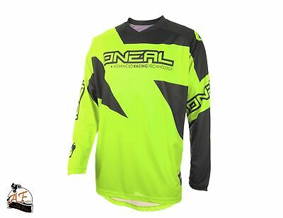 Maglia O'Neal Cross MX Matrix Adult Ridewear Yellow Fluo 2020