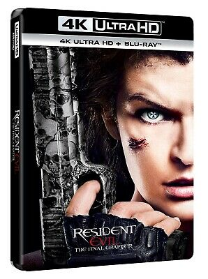 Resident Evil - The Final Chapter  4K Uhd+Blu-Ray