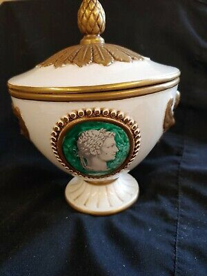 Vintage Decorative Pedestal Urn Unique