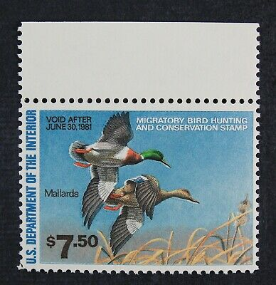 CKStamps: US Federal Duck Stamps Collection Scott#RW47 $7.50 Mint NH OG