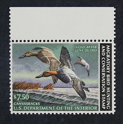 CKStamps: US Federal Duck Stamps Collection Scott#RW49 $7.50 Mint NH OG