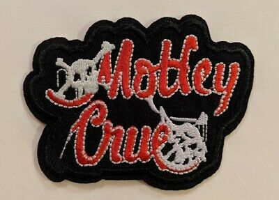 Motley Crue Embroidered Iron-on Heavy Metal Band Patch