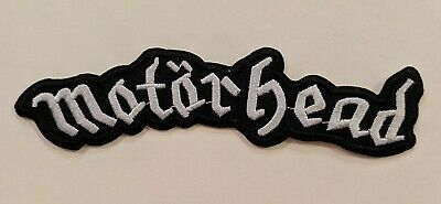 Motorhead Embroidered Iron-on Heavy Metal Band Patch