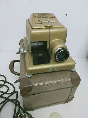 Vintage 1960's Collectable German Made Braun Paximat 35mm Film Slider Projector