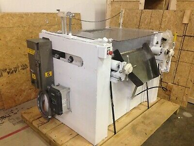 Ross Three Roll Mill Model 52TC-9x24, stainless rollers good for chocolate!