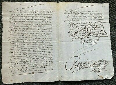 1593 Lawmaker to enforce a contract for 800 Jugs of Wine, ORIGINAL, free ship ww