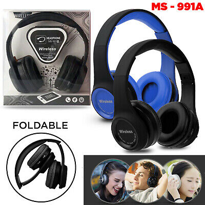 Wireless Headphones Bluetooth Headset Noise Cancelling technology Microphone UK