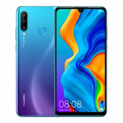 Huawei P30 lite New Edition 256GB Dual-SIM Blue Smartphone - sehr guter Zustand