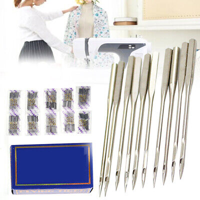 100x HAX1 Needles Flat Shank for Singer Brother Household Sewing Machine Parts
