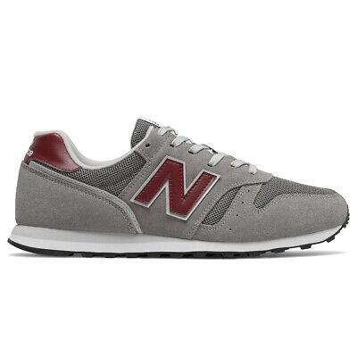 Chaussures Baskets New Balance homme 373 AD2 taille Gris Grise Cuir Lacets