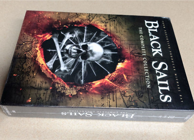 Black Sails The Complete Collection Series Seasons 1 2 3 4 (DVD) Season 1-4 1234