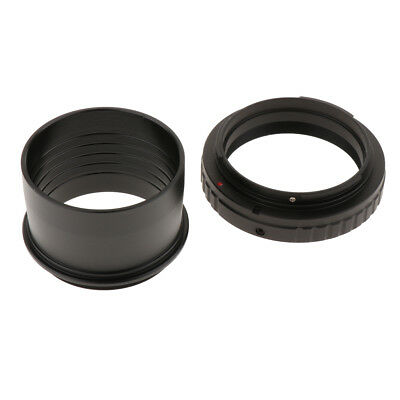 """2"""" to M48*0.75 Telescope Eyepiece Lens Mount Adapter+T Ring for Canon DSLR"""