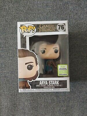Funko Pop! Game of Thrones #76 Arya Stark ECCC 2019 Shared Exclusive MINT