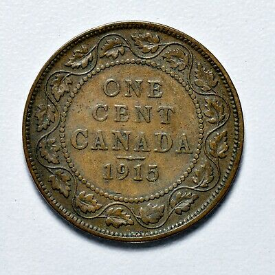 Canada Large Cent - 1915 ++ Sharp Grade!! ++ [944-21]