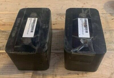 "1 Pair Of Loading Dock Bumpers 6 1/8""x3 5/8""x3 1/2"""