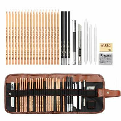 AIPLUX Sketching Pencil Piece Professional Sketching & Drawing Art Kit