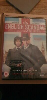 A Very English Scandal Bbc Dvd Brand  New And Sealed- Hugh Grant