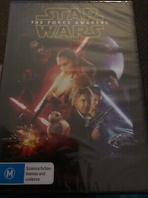 The Star Wars - Force Awakens (DVD, 2016) New & Sealed