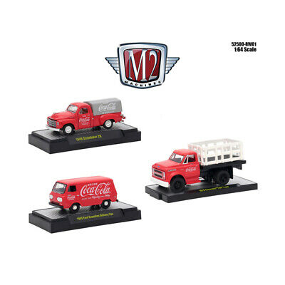 Coca-Cola Release 1, Set of 3 Cars Limited Edition to 4,800 pieces Worldwide Hob