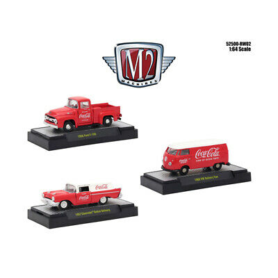 Coca-Cola Release 2, Set of 3 Cars Limited Edition to 4,800 pieces Worldwide Hob