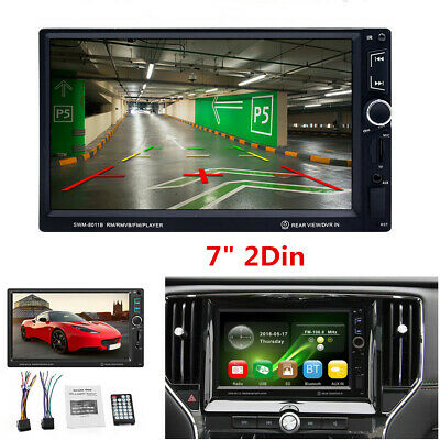 7 inch Double 2DIN Car Stereo Radio Bluetooth FM USB MP5 Player HD Touch Screen