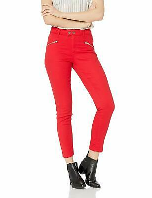 Levi's 721 Womens Jeans Red Size 30 High-Rise Skinny Ankle Stretch $59- 984
