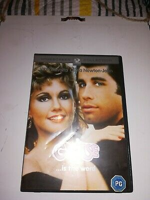 Grease DVD (2002) John Travolta, Kleiser (DIR) cert PG