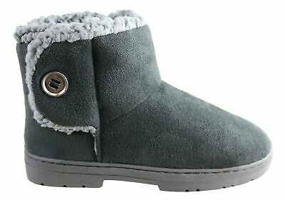 New Scholl Orthaheel Fluffy Womens Warm Comfortable Indoor Slippers Boots
