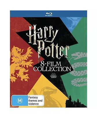 Harry Potter Complete 8-Film Collection (Blu-Ray, 8 Discs) New & Sealed Box Set