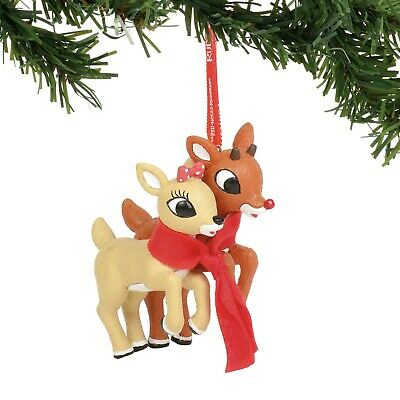 Dept 56 Rudolph Red Nosed Reindeer 4045008 You/'re Cute Sentiment 2015