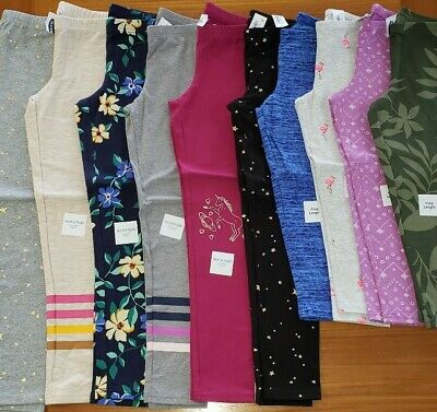 Old Navy Girls SIZE 8 Leggings Pants Lot 10 PIECES Full Length / Crop #20-576