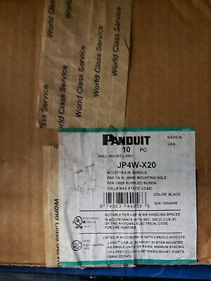 Panduit JP4W-20 J Hooks, 10 pcs per box