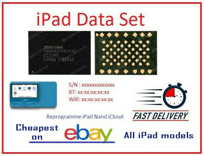 New Serial Number BT & Wi-Fi Address for all iPad 100% Fix Activation issue