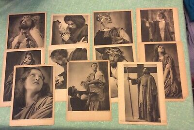 1930 German Postcards Lot of 11- Religious - Jesus, Magdelana, Herodes + More