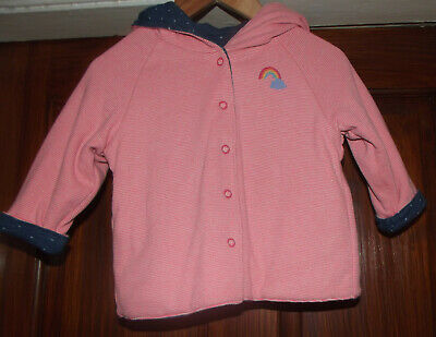 Baby Girls Reversible Next Jacket Age 9 - 12  months