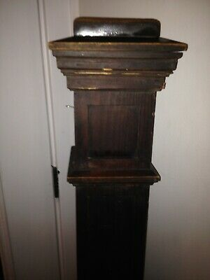 Antique Arts & Crafts Era Mission Heart Pine Newel Post Architectural Salvage