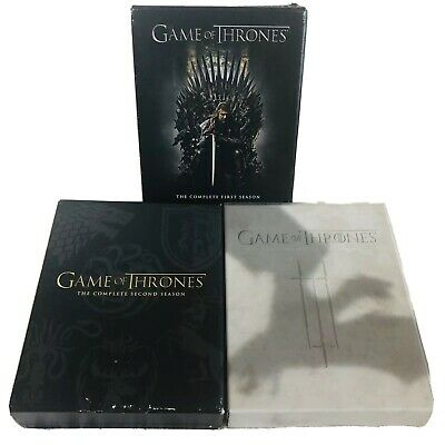 HBO Game of Thrones Bluray Collection Seasons 1-3