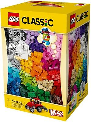 BNIB LEGO 10697 Classic Large Creative Box XXL 1500 Piece BRAND NEW