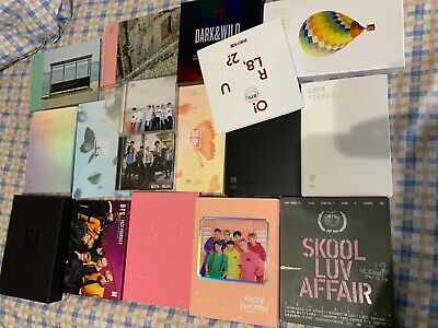 BTS official album love yourself answer tear her persona young forever etc