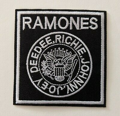 Ramones Embroidered Iron-on Punk Band Patch