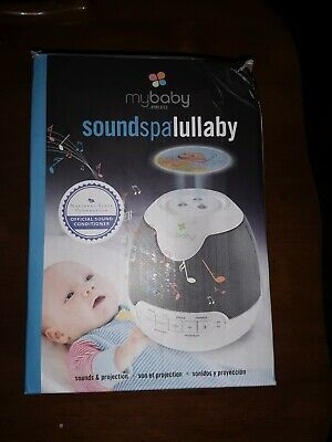 HoMedics myBaby Soundspa Lullaby Sounds & Projector 6 Soothing Sounds (XM345)