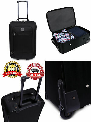 Comfortable Carry-On Travel Suitcase Roller Wheels Luggage Case Bag 18 inch New