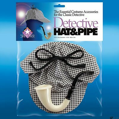 6 Pack Fake Calabash Sherlock Holmes Detective Pipe Plastic Toy Accessory