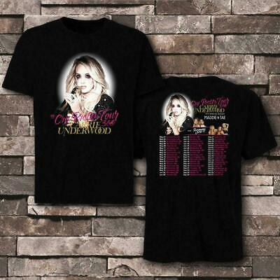 5XL Carrie Underwood tour 2019 with Maddie /& Tae Runaway June T-shirt size S