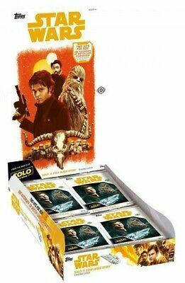 Solo : A Star Wars Story Hobby Box (Topps 2018) New & Sealed
