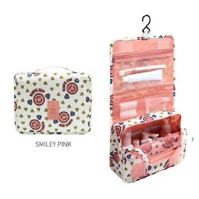 2020 Travel Cosmetic Storage MakeUp Bag Folding Hanging Organizer Pouch Toiletry