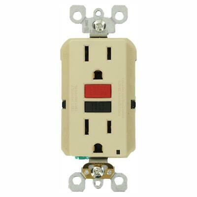Leviton Electrical Outlet Receptacles 15 Amp 2-Pole Duplex Thermoplastic 3-Pack