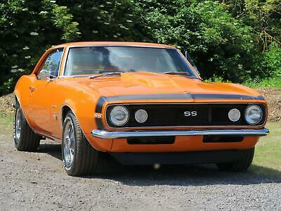 1967 Chevrolet Camaro SS 350 Petrol orange Manual