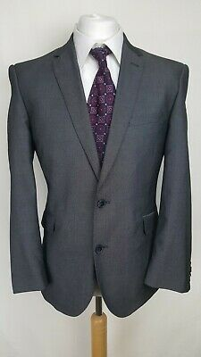 Taylor&Wright Mens Suit, Grey, Wool Blend, Chest 42S, Trousers 36S, Good Cond
