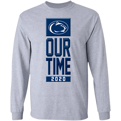 2020 Big Ten Conference Penn State Nittany Lions Men's Long Sleeve Tee Shirt
